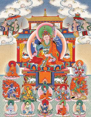 Mandala of Guru Rinpoche