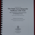 Commentary on the Daily Guru Rin Sadhana w Tsok