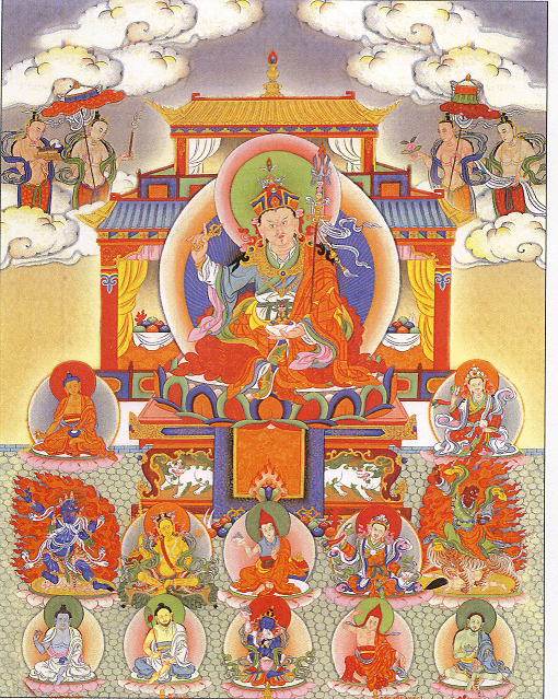 Guru Rinpoche Long cover page png