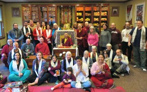 Bardor Tulku Rinpoche and some students at KPL