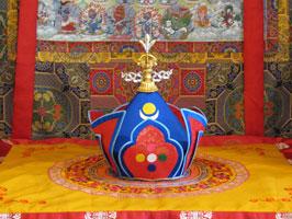 The Usha - Bardor Rinpoche's Terton Crown