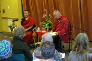 Bardor Tulku Rinpoche and Lama Yeshe Gyamtso