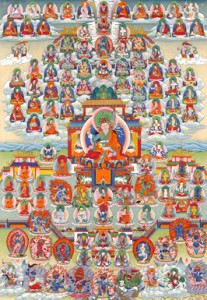 Barway Dorje Lineage Tree