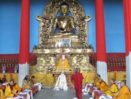 Barom Kagyu Monlan at Kyodrak Monastery in Tibet 2009